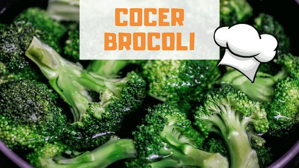 Cómo Cocer Brocoli y Tiempo de Cocción
