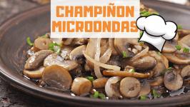 CHAMPIÑONES AL MICROONDAS