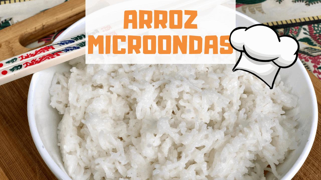 ARROZ AL MICROONDAS