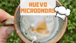 HUEVO DURO AL MICROONDAS