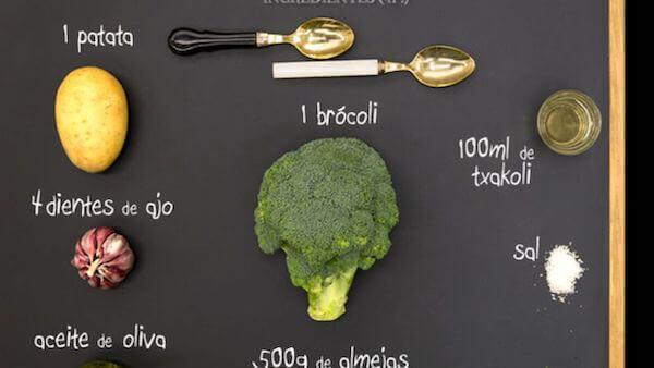 brocoli en el microondas